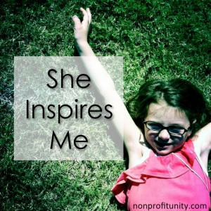 """She Inspires Me"" is dedicated to my daughter, Samantha."